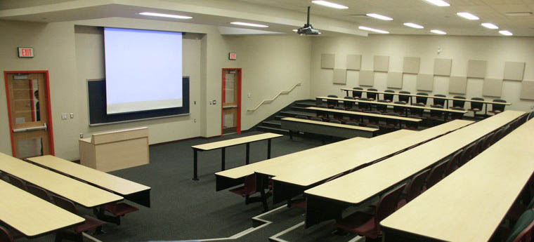 Room 302 - 3rd Floor Lecture Hall - 120 Seats