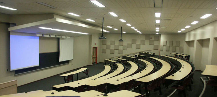 Room 303 - 3rd Floor Lecture Hall - 145 Seats