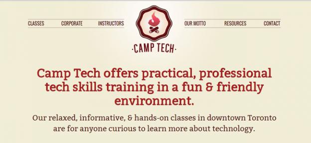 Camp Tech - Sponsor Spotlight