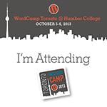 WordCamp Toronto 2013 - Attending