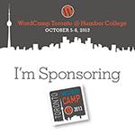 WordCamp Toronto 2013 - Sponsoring