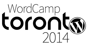 WordCamp Toronto 2014 Logo - Black