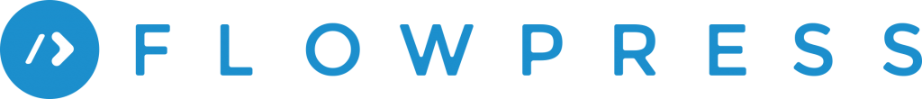 FlowPress Logo Blue