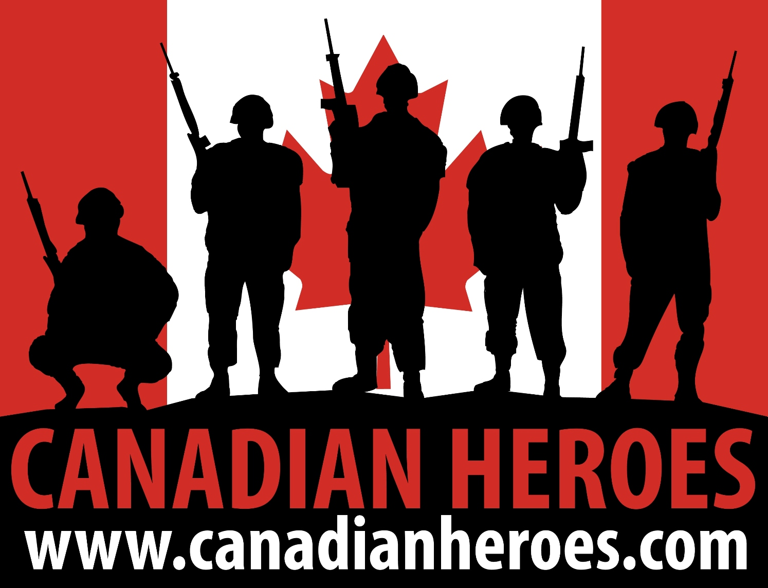 Canadian Heroes Foundation logo